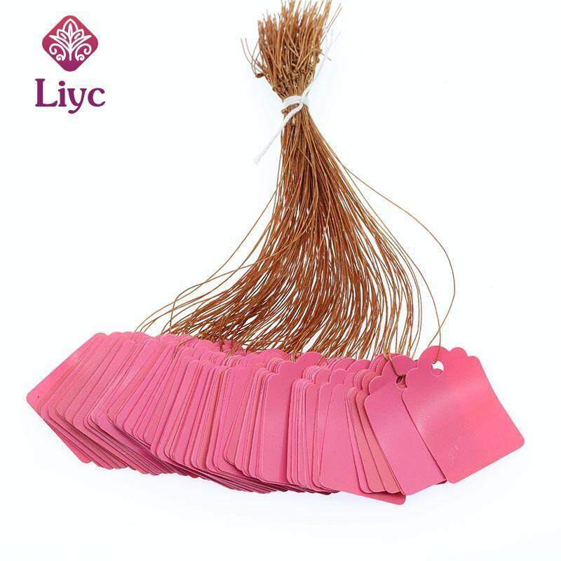 Liyc 100pcs Plants Hang Tag Labels And Brands Seedling Garden Flower Pot Plastic Tag Number Plate Hanging Reusable Pvc Tool New high quality