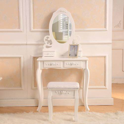 Dressing Table With Mirror Stool and FREE Wooden Chair Contact Seller for Free Chair