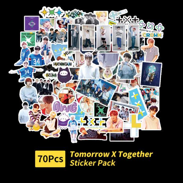 Mua Csbi Cái/bộ 70 Miếng Dán PVC Dán Kpop TXT Tomorrow X Together, Album Cho Máy Tính Xách Tay Hành Lý Các Bản Vá Lỗi Skateboard Sticker