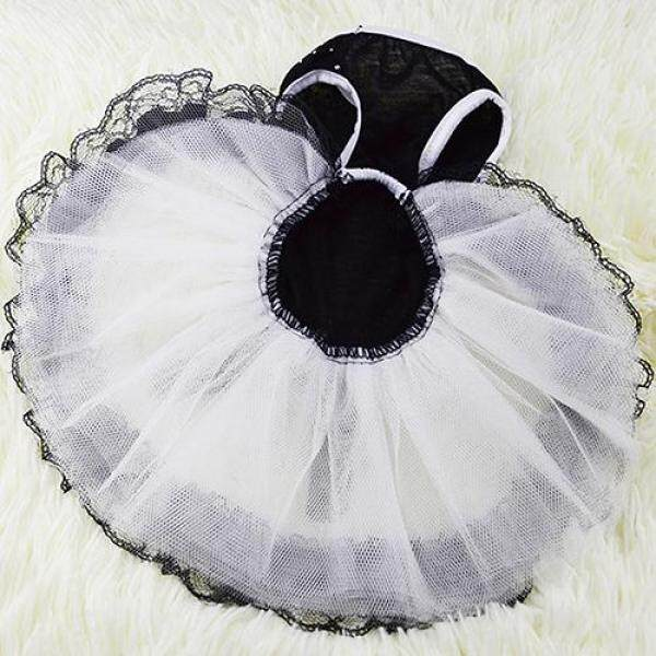 huanhuang® Glitter Bow Lace Dog Princess Tutu Dress Bubble Skirt Pet Clothes Puppy Costume