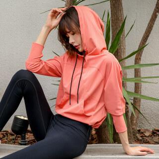 Dream-S Áo Tập Yoga Thể Thao Có Mũ Áo Khoác Nữ Tập Luyện Chạy Bộ Mỏng Cảm Giác Bộ Đồ Thể Thao Tập Thể Dục Áo Nỉ Dài Tay thumbnail