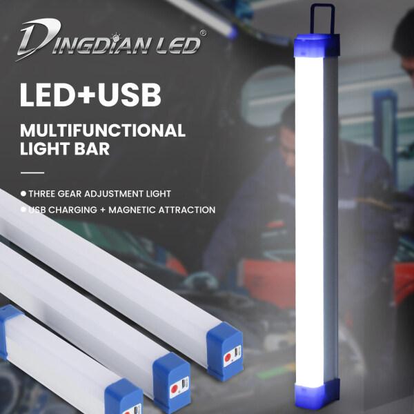 DINGDIAN LED DC5V Đèn LED USB Đa Chức Năng Đèn Khẩn Cấp 5W 10W 15W Đèn Sạc Cho Trong Nhà Đèn Led Ngoài Trời