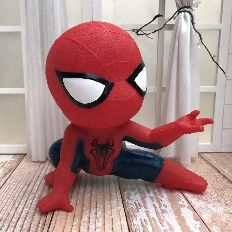 Big One American Creative Spider-Man Money Box PVC Material Resistant To Fall Children Boy Special Birthday Gift Living Room Decoration