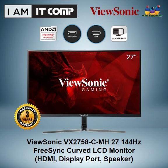 ViewSonic VX2758-C-MH 27  144Hz FreeSync Curved LCD Monitor Malaysia