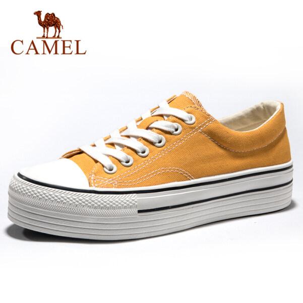 Giày Vải Nữ CAMEL Giày Đế Cao Giày Vải Thời Trang Giản Dị giá rẻ
