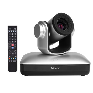Aibecy Camera Hội Nghị Video HD Full HD 1080P Tự Động Lấy Nét Zoom Quang Học 10X Với Cáp Web 2.0 USB Điều Khiển Từ Xa Cho Doanh Nghiệp Đào Tạo Ghi Âm Cuộc Họp Trực Tiếp thumbnail