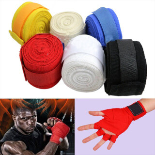 1 Cái Bọc Tay Đấm Bốc Đấm Bốc Băng Hộp Băng Đấm Bốc Dây Đeo Thể Thao Găng Tay Quấn Găng Tay Muay MMA Taekwondo thumbnail