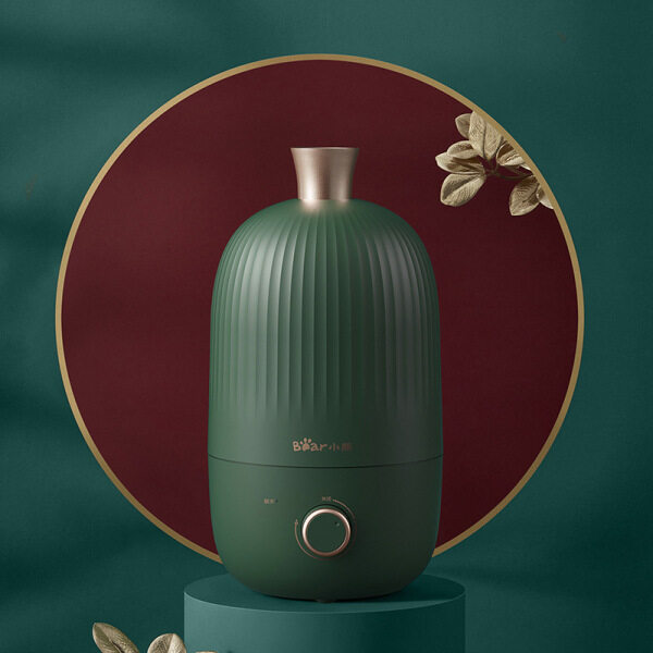 Small Bear Humidifier Bedroom Heavy Fog Aromatherapy Clean Air Office Desktop Spray JSQ-B20N5 Singapore
