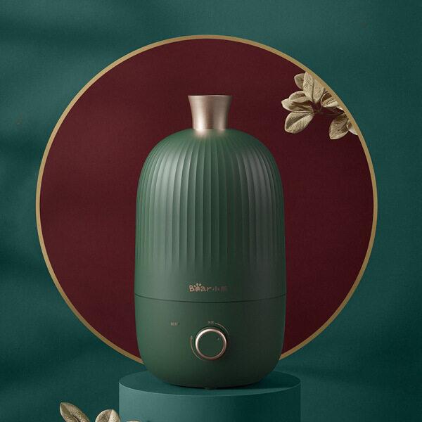 Small Bear Humidifier Bedroom Heavy Fog Aromatherapy Clean Air Office Desktop Spray JSQ-B20N5 Singapore
