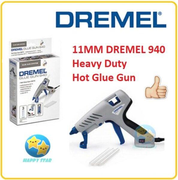 [100% ORIGINAL] DREMEL ELECTRIC HOT GLUE GUN 940-3 GLUE GUN 940 HEAVY DUTY 11MM GLUE STICK PISTOL GAM GUN LEMAK PANAS