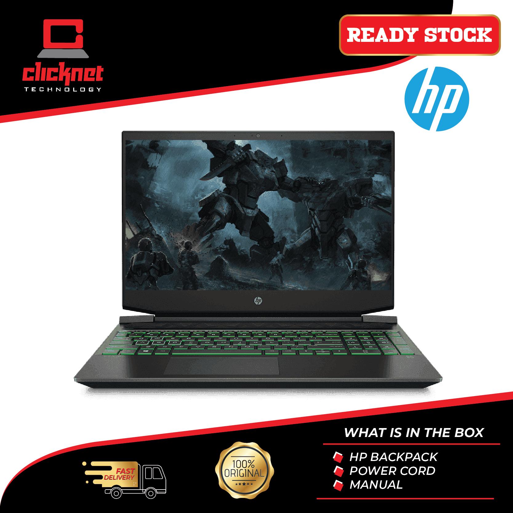 HP Laptop Pavilion Gaming 15-Ec0058AX 15.6  FHD (Ryzen 5-3550H, 8GB, 512GB SSD, GTX1050 3GB, W10) Malaysia
