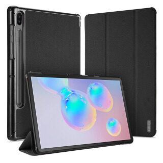 Ốp Lưng Samsung Galaxy Tab S6 10.5, Sang Trọng Trường Hợp Máy Tính Bảng Ốp Bảo Vệ Gập Ba Khi Ngủ Thông Minh Cho Samsung Tab S6 10.5 2019 T860 T865 thumbnail