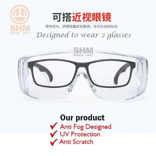 Golmax Anti Fog Safety Glasses Worker Goggles