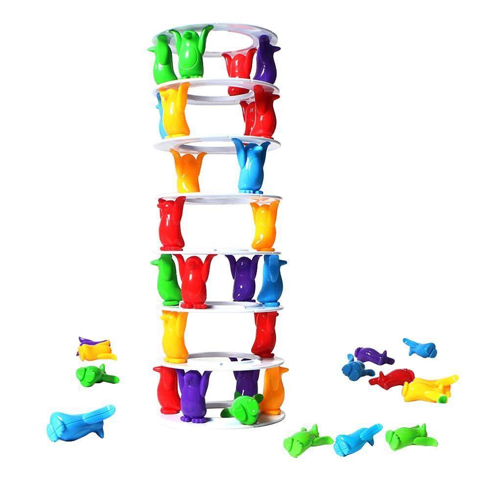 เพนกวินทาวเวอร์ยุบเกมรักษาความสมดุลของเล่นเด็กปฏิสัมพันธ์เกม By Ttnight Official Store.