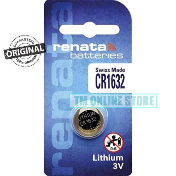 CR1632 RENATA LIHTIUM BATTERY SWISS BRAND ORIGINAL CR1632 Malaysia