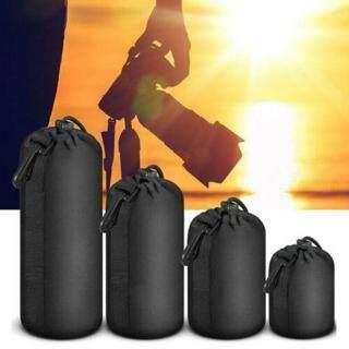 4 Cái bộ Ống Kính Máy Ảnh DSLR Túi Bảo Vệ Mềm Neoprene Túi Đựng Đồ Bộ Vỏ thumbnail