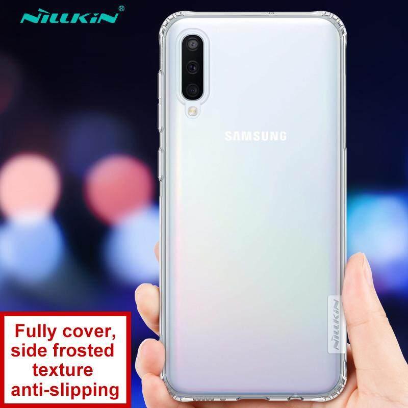 NILLKIN untuk Samsung Galaxy A50 TPU Case, Alam Tpu Pelindung Ultratipis Penutup Belakang Lembut Shell
