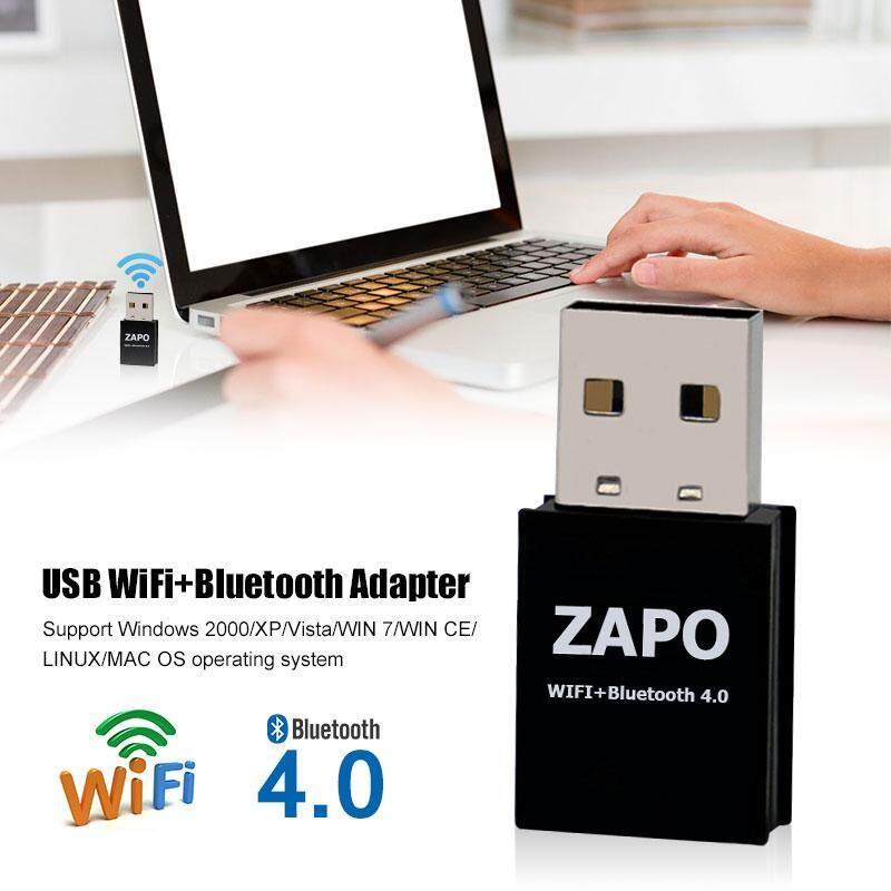 Mini Wifi Không Dây Mạng Bên Ngoài Wi-Fi Thu Loa Máy Tính Để Bàn Máy Tính Xách Tay MÁY TÍNH Laptop 802.11b/N/G/ AC Bluetooth 4.0 150 Mbps 2.4G Máy Tính Nối Mạng Tiện Ích cho ZAPO