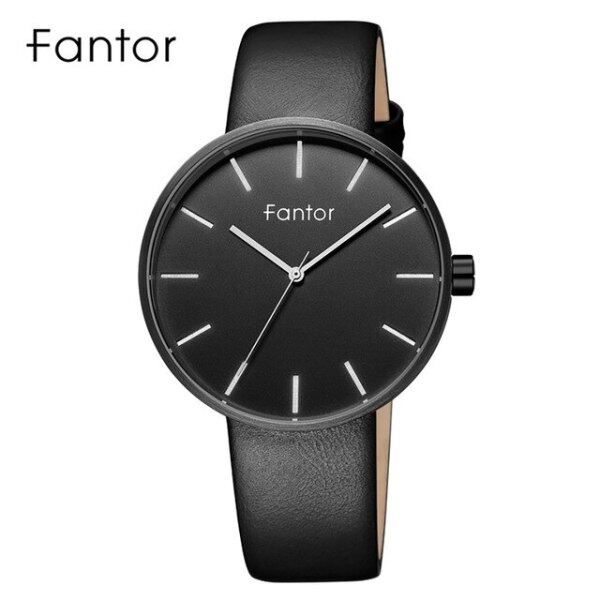 Fantor Brand Simple Minimalist Men Watch Slim Thin Leather Strap Wristwatch Mens Fashion Casual Quartz Watches Man in Wrist Malaysia