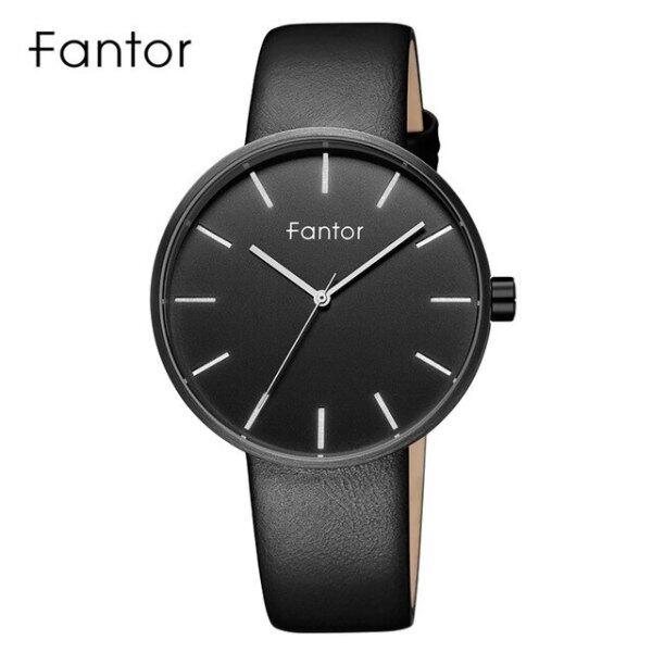 Fantor Brand Simple Minimalist Men Watch Slim Thin Leather Strap Wristwatch Mens Fashion Casual Quartz Watches Man in Wrist Malaysia