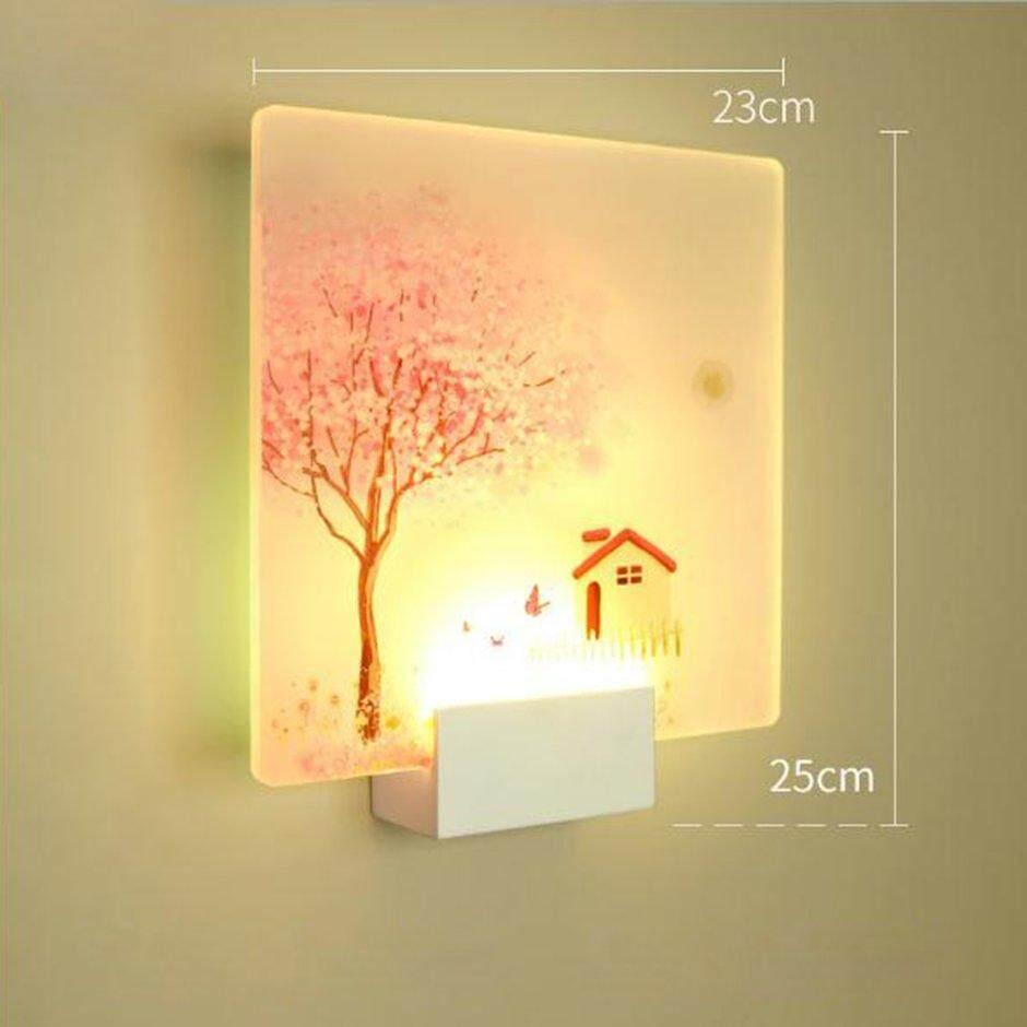 Best Sales Led Modern Wall Lamp Acrylic Sconce Wandlamp For Bathroom Luminaire Wall Light