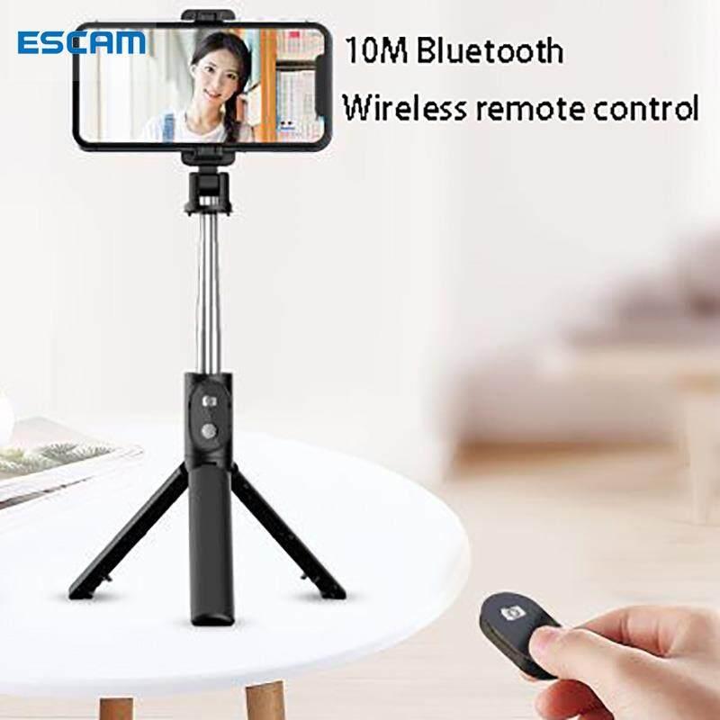 ESCAM Giá Ba Chân Gậy Chụp Ảnh Tự Sướng Bluetooth Có Thể Mở Rộng Cầm Tay P30 Dành Cho iPhone...