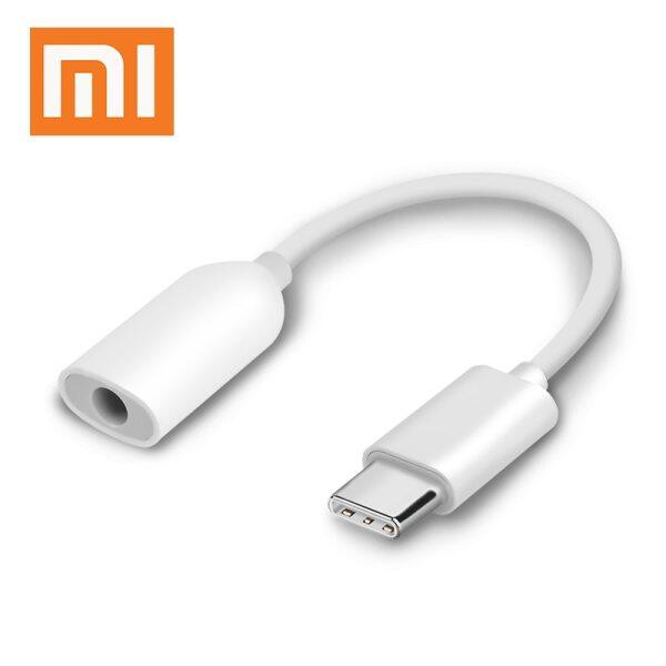 Original Xiaomi Type-C to 3.5mm Earphone cable Adapter Black shark MI 8 6 SE A2 MIX 2 2S USB-C male to 3.5 AUX audio female Jack Singapore