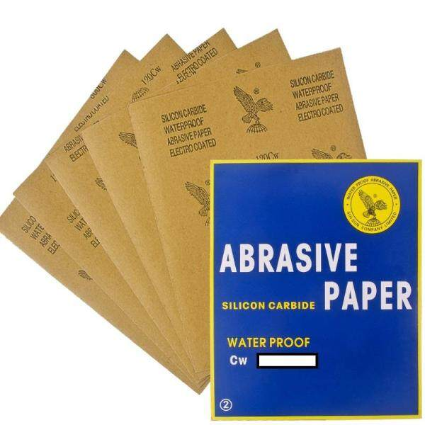 Eagle Abrasive Paper Sand Paper Waterproof Dry/Wet (Cw60 - Cw2000) Kertas Pasir
