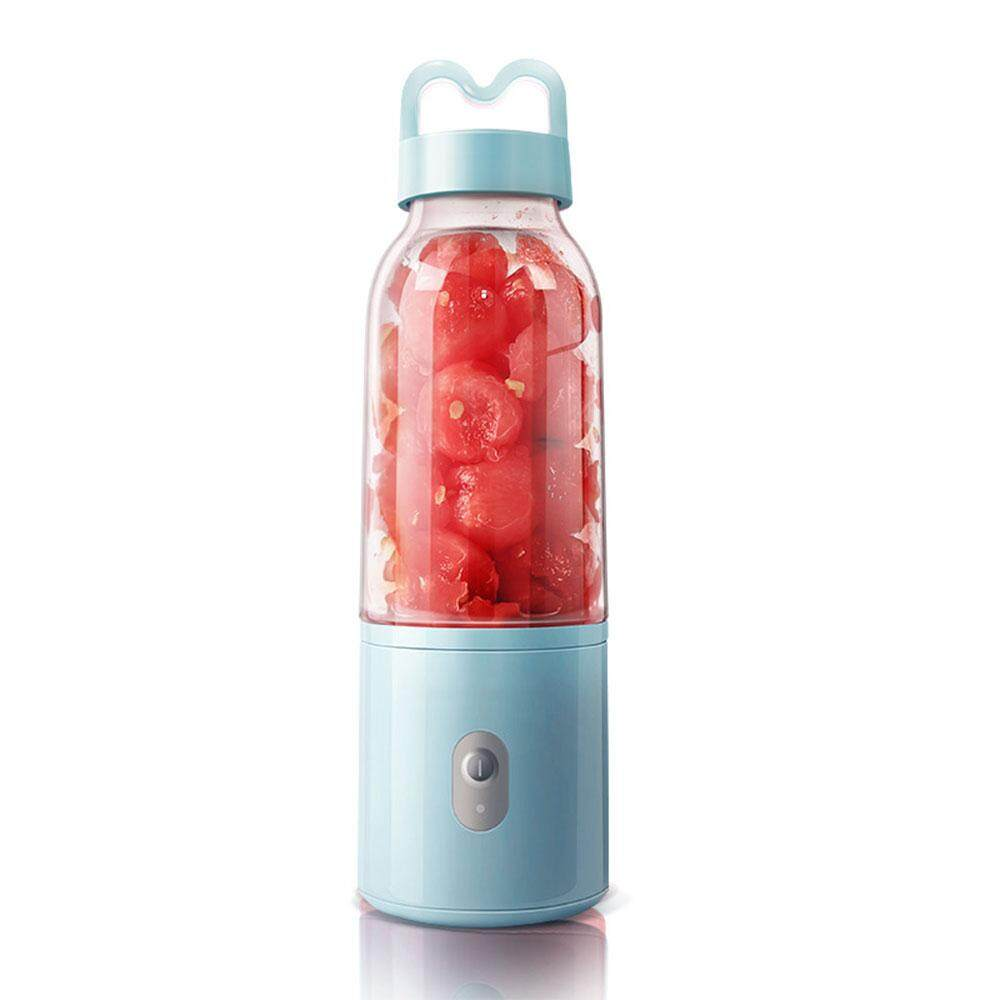 Fruit Juice Blender Fruit Juicer Juicer Mini Portable 220V 4 Blade Kitchen Tool Protein Shake