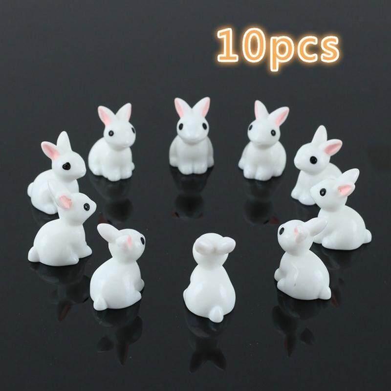 Không Thể Bỏ Qua Giá Hot với 10 Chiếc Mini Thỏ Nhựa Khu Vườn Cổ Tích Vật Trang Trí Hoa Vật Có Nồi Nhà Hình Động Vật Trang Trí