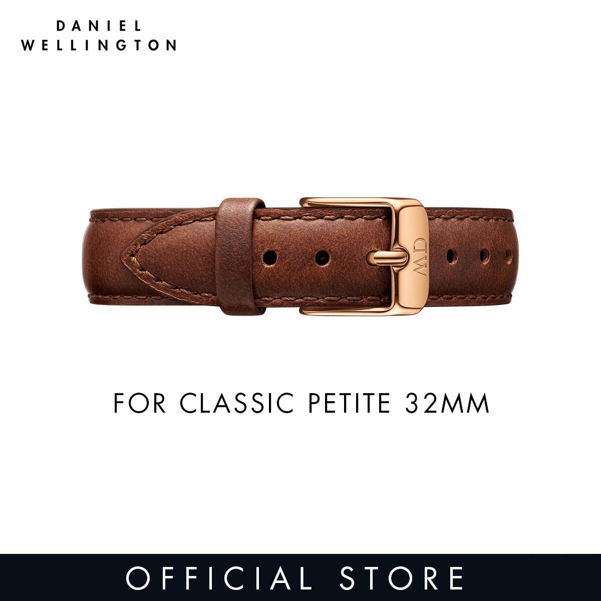 1054c0dd7310 For 32mm Classic Petite - Daniel Wellington St Mawes 14mm Watch Strap - Rose  Gold -