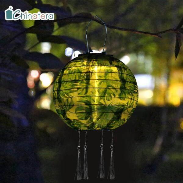 Đèn Chùm Tua Rua Sử Dụng Năng Lượng Mặt Trời LED Chinatera, Đèn Chùm Sơn Hình Hoa Hình Lá Đồ Chơi Lễ Hội Trung Quốc Chống Thấm Nước Đèn Treo Chiếu Sáng Cảnh Quan Sân Nhà Trang Trí Sân Vườn Ngoài Trời Trang Trí Ngày Lễ Tiệc