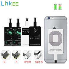 Hỗ Trợ Bộ Thu Sạc Không Dây Qi, Bộ Chuyển Đổi Sạc Không Dây Nhanh Thông Dụng Cho iPhone 7 6 Plus Micro USB Type C CuộN Thu