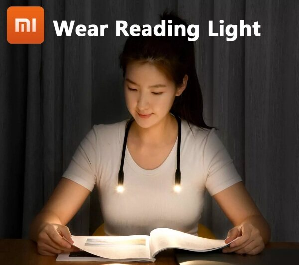 Bảng giá Original Xiaomi Youpin Opple Wear Reading Lamp Portable Led Hangable Variable Shape Silicone Usb Chargeable Night Light for Read