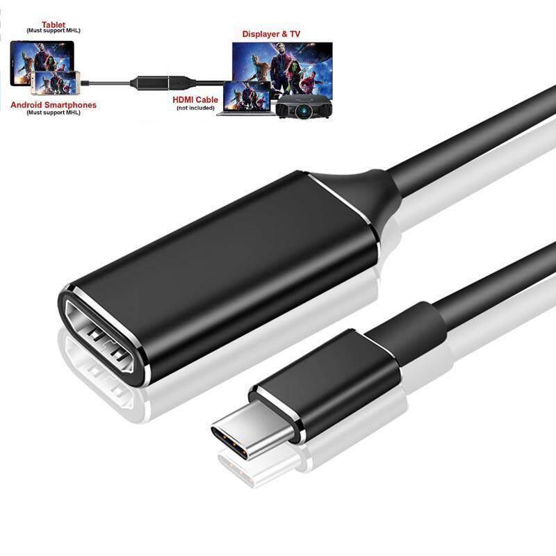 Bảng giá KOBWA USB Loại C sang HDMI 4 K Loại C sang HDMI Digital AV Adapter Tương Thích Thunderbolt 3 dùng cho Macbook/Laptop/Điện Thoại/Máy Tính Bảng Phong Vũ