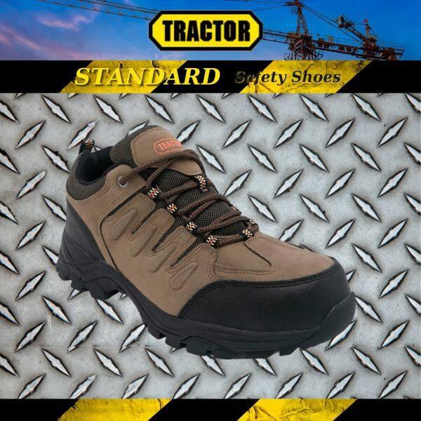 Tractor Mens Standard Industrial Safety Shoes Steel Toe Cap Mid Steel Sole Footwear 339