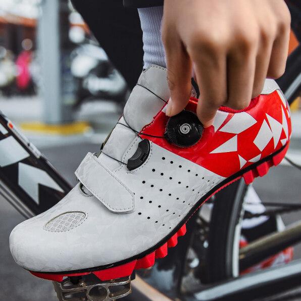 Giày Đạp Xe Leo Núi Nhẹ Chống Trượt Tự Khóa Cho Nam Giày Đạp Xe Thoáng Khí Đua Xe Đường Trường, Kích Thước 36-46 giá rẻ