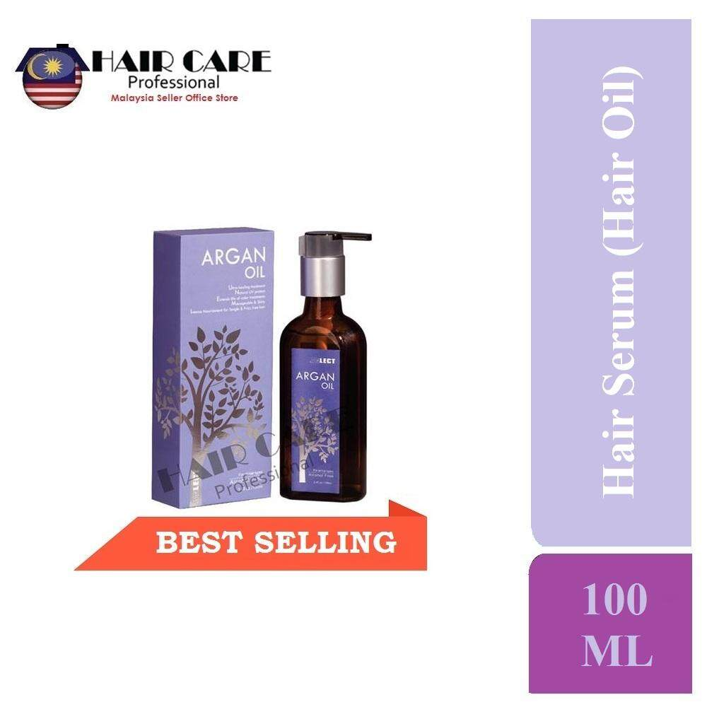 Select Argan Oil Healing Treatment (Hair Serum/ Hair Oil) 100ml - for  MOISTURIZING, DRY / DAMAGE HAIR, PURE MOROCCO OIL ALCOHOL FREE, OMEGA 3  OILS,