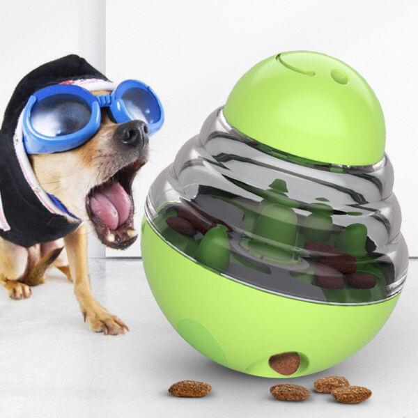 Thời Trang Dog Food Ball Rò Rỉ Đồ Chơi Giáo Dục Pet Cat Đồ Ăn Nhẹ Thông Minh Rò Rỉ Daruma Dog Thức Ăn Trung Chuyển Nhàm Chán