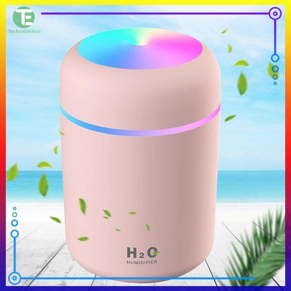 [50% OFF] USB Electric Aromatherapy Oil Diffuser Ultrasonic Air Humidifier Mist Maker Singapore
