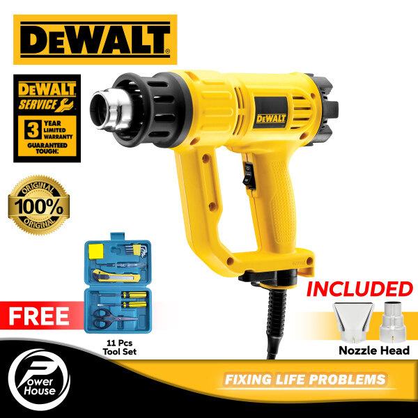 DEWALT D26411 1800W Heat Gun With 2pcs Standard Nozzle