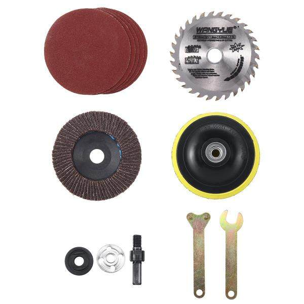 Set Wood Metal Cutting Accessories Set For Variable Angle Grinder Hand Drills
