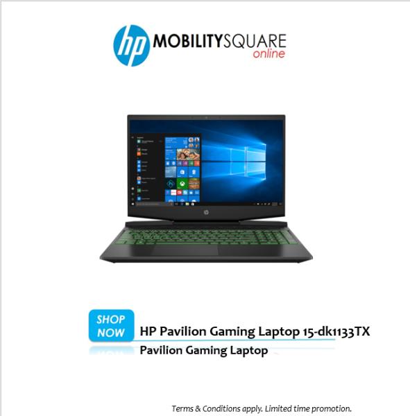 HP Pavilion Gaming Laptop 15-dk1133TX Malaysia