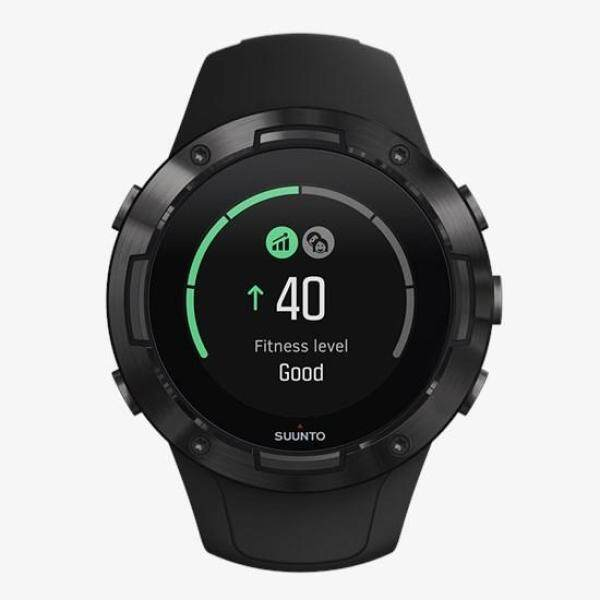 Suunto 5 All Black (Compact GPS sports watch with great battery life) Malaysia