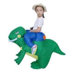 Foctroes Jumpsuit Dự Tiệc Inflatable Trang Phục Lễ Hội Quần Áo In Hình Hài Hước Khủng Long T-Rex Cosplay Bé Trẻ Em Inflatable Nhật Bản Khoa Học Vật Lý Đồ Chơi Trung Quốc Cửa Hàng Quà Tặng Vui Chơi Giải Trí Xung Quanh