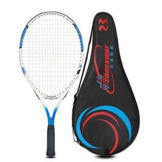 1 Chiếc Vợt Tennis Sợi Cacbon Chất Lượng Cao Được Trang Bị Với Túi Quần Vợt Grip Kích Thước 4 1 4 Raquetas De Tenis thumbnail