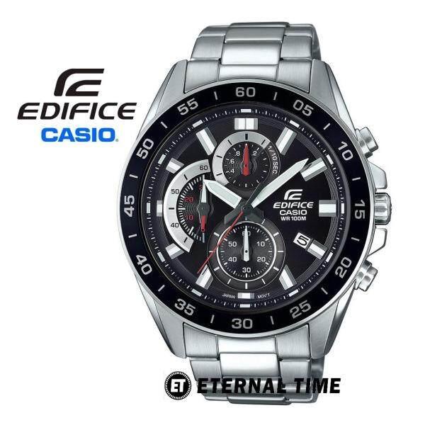(2 YEARS WARRANTY) CASIO ORIGINAL EDIFICE EFV-550D-1AV CHRONOGRAPH MENS WATCH (EFV-550D) Malaysia
