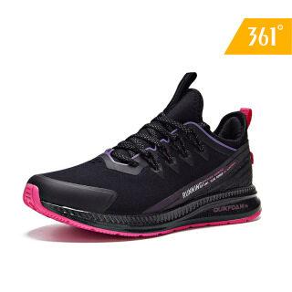 Giày sneaker nữ chi tiết phản quang và lưới thời trang thoáng khí màu sắc trẻ trung 361 degree 581942213 thumbnail