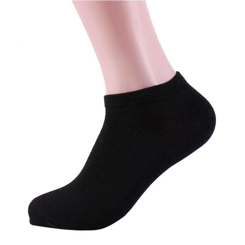 4e19740b8 Cocotina Men Women Low Cut Stretch Ankle Socks 1 Pair (Black)