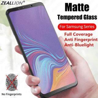 Zeallion Cho [Samsung Galaxy J4 J6 J8 J2 J5 J7 Prime Pro Core Plus J330 J530 J730 M10 M20 S10e] Miếng Dán Bảo Vệ Toàn Màn Hình Chống Ánh Sáng Xanh Kính Cường Lực Mờ thumbnail